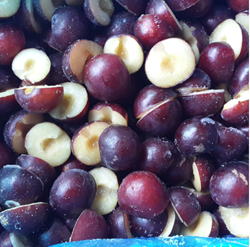 IQF Delicious Frozen fruit frozen plum in good quality in bulk