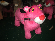 Amazing Animal Rocker At Mall Plush Rocking Horse Kids Ride On Toy Price