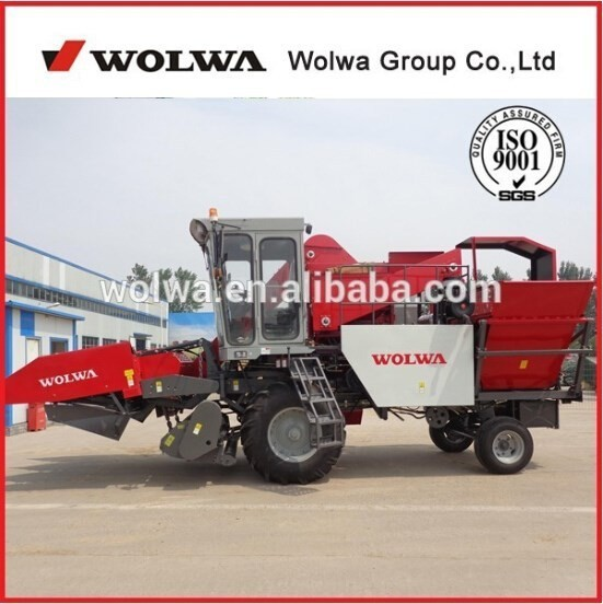 Hot Sale wolwa agriculture equipment W4YM-3A corn harvester machine for sale