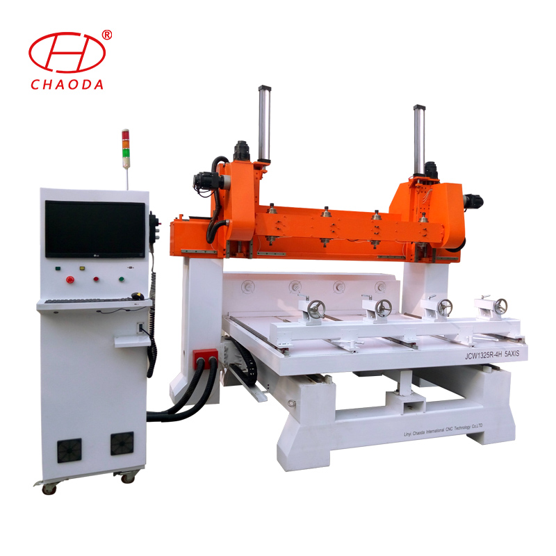 machines used to make furniture / multi head wood cnc router 5 axis