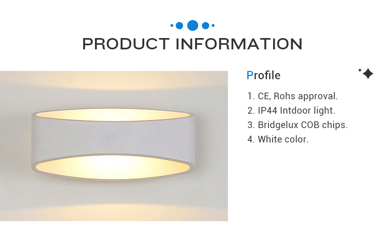 INNOVALIGHT Professional 5w aluminum modern hotel indoor led lamp wall light