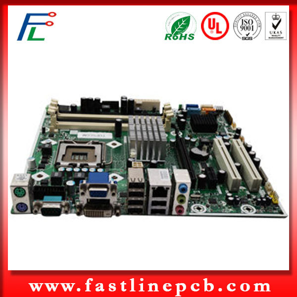 quick leadtime pcb assembly consumer electronic surface mount round circuit board assembly (FL1288)
