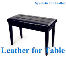 2016 Innovative Leather Pieces for High End Products with Comprehensive Service Table Protector Leather PU Covering Leather