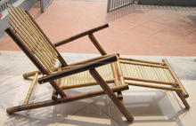 Bamboo furniture high quality from Vietnam, 2014 bamboo beach chair is the summer best choice for the house furniture used