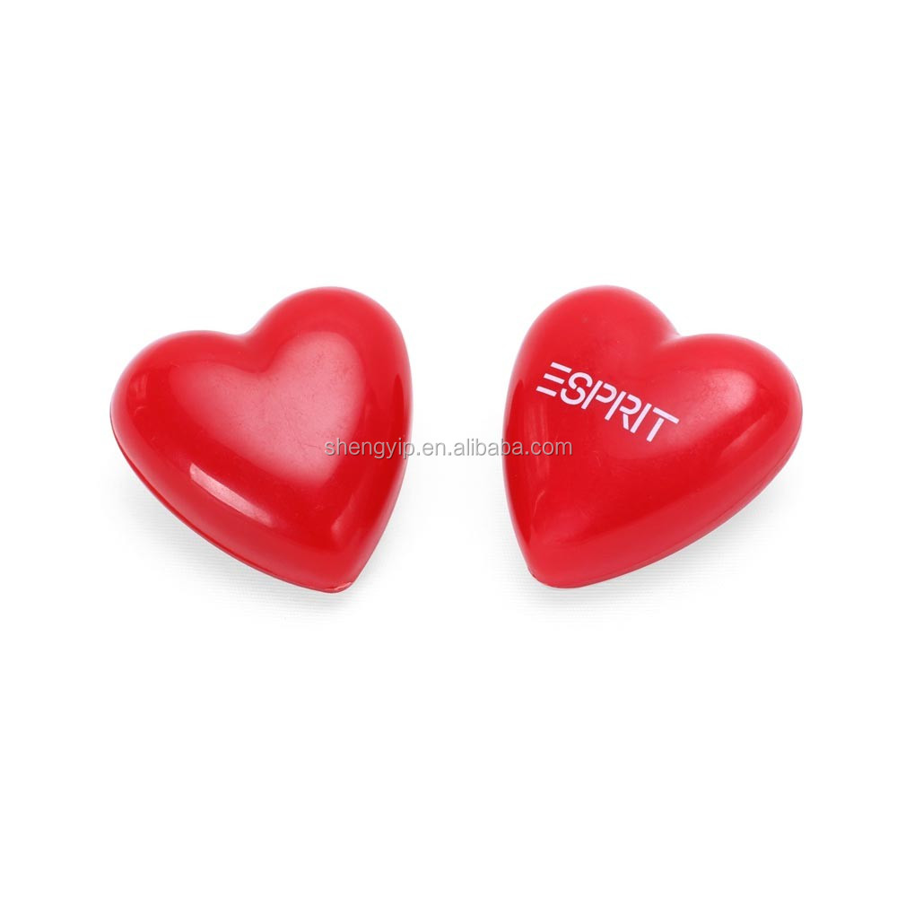 2016 custom recordable heart-shaped music box for plush toy with ABS plastic