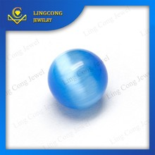 gemstone manufacurer wholesale synthetic cat eye stone,competitive glass price
