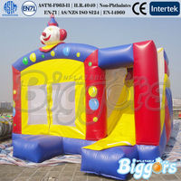Inflatable Clown Combo Funny Inflatable Combo PVC Inflatable Combo Castle
