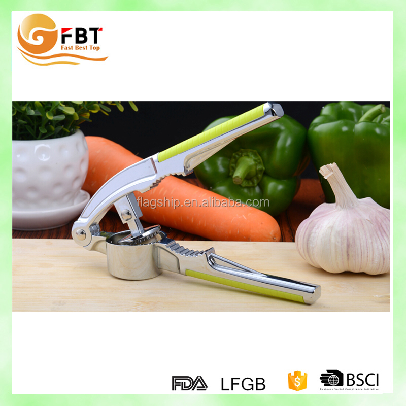 Amazon best selling garlic crusher zinc alloy gralic peeler