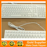 Original New KR JP Arabic Thai UK layout for lenovo 10YA K5819 KB4721