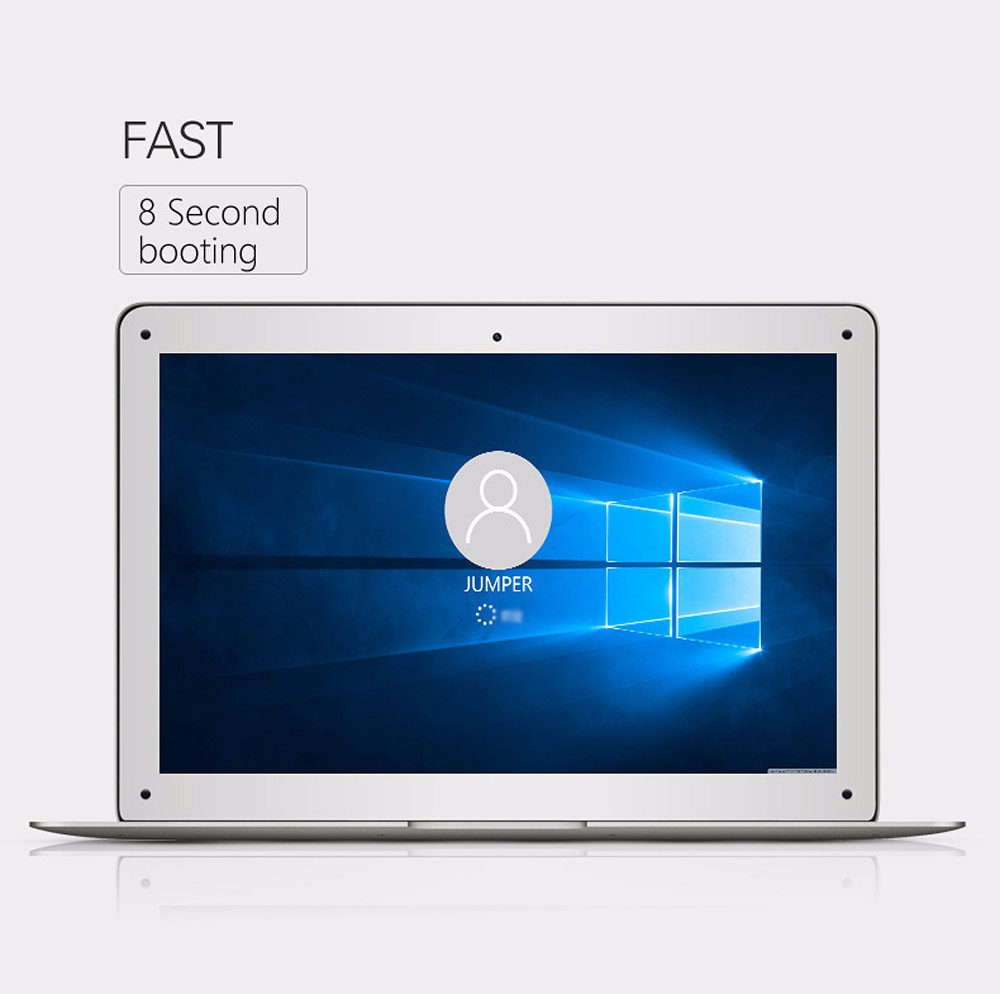 Original Jumper EZbook 2 Ultrabook Laptop 14.1' Windows10 4GB/64GB Intel Cherry Trail Z8350 Quad Core 1.84GHz 1920*1080