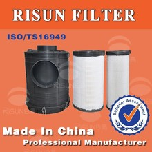 M5 Plastic Air filter with core filter same as fleetguards air filter AF26434 application