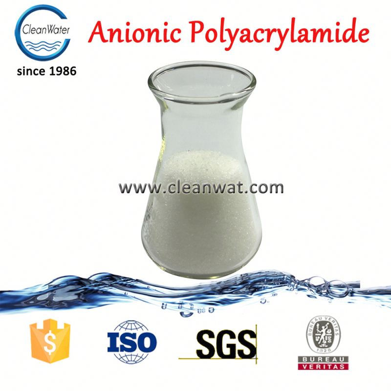 cleanwater Factory Price Anionic PAM Polyelectrolyte Powder coagulant aid