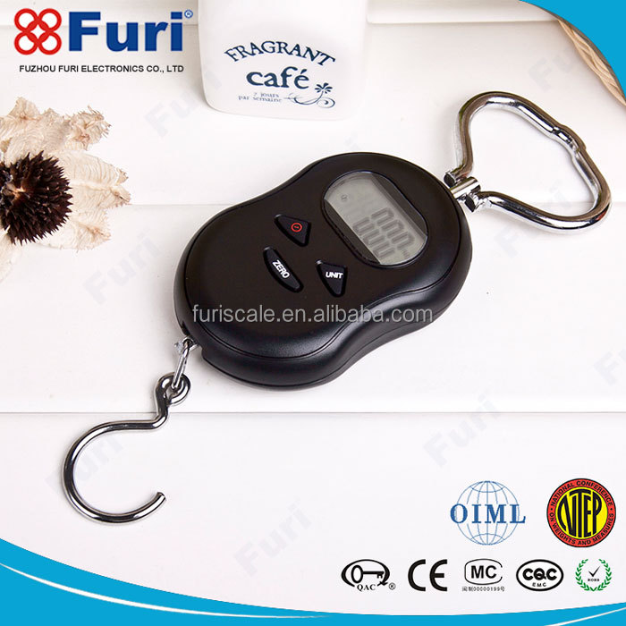Furi Hot Selling Non Slip Rubber Shell digital luggage weighting electronic balance scale