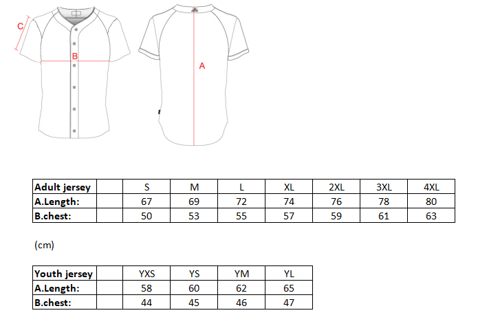 Button Down Buttons Shirt Blank Baseball Jersey High Quality Wholesale