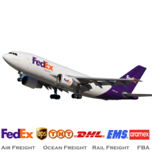 FEDEX TNT DHL UPS Air Express Shipping From China to USA Canada Latin America Mexico Brazil Chile Peru Panama