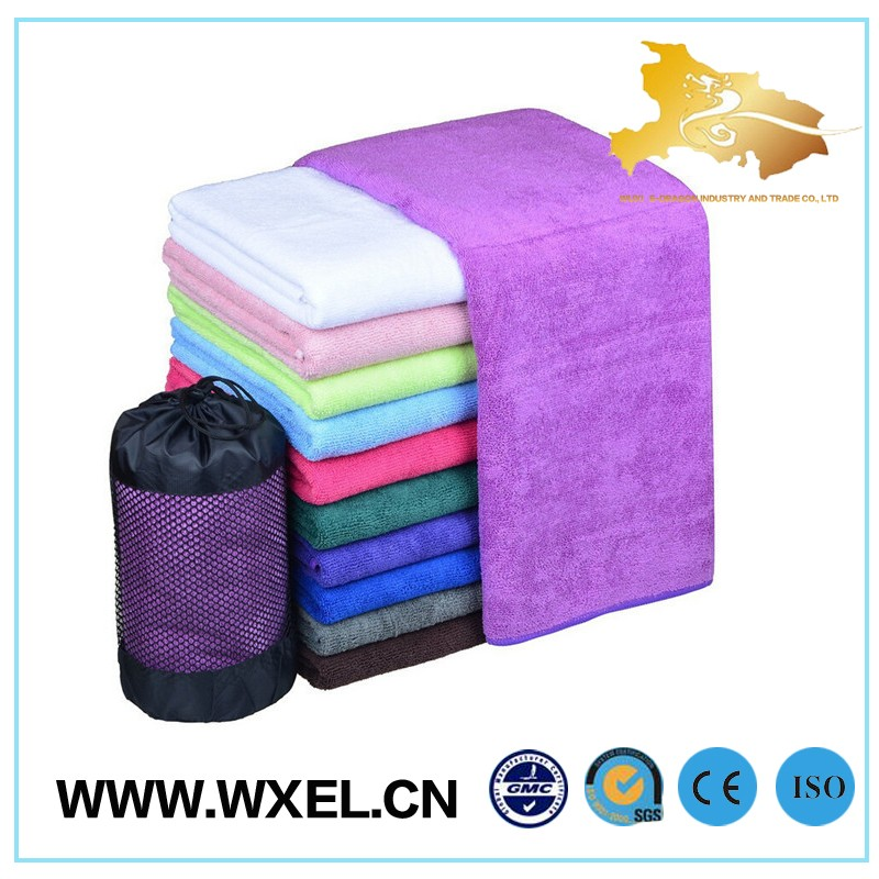 factory certificate microfibre cloth sport towel gym wholesale towels