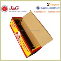 Aluminum foil Custom design paper packaging box