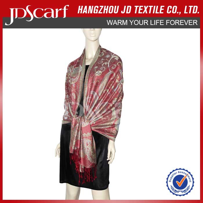 High quality new style new design evening shawl wrap