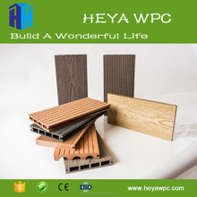 China heya Solid Composite Deck/Balcony Deck Boards/Cheap Composite Decking Material
