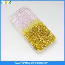 Bling quicksand liquid glitter cell phone case for iphone 5, mobile phone accessories