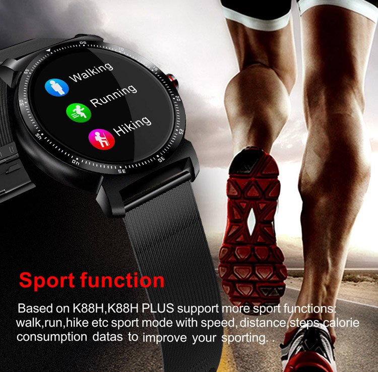 2019 New Fashion High Quality Smart Watch Heart Rate Monitor Ips Screen With Heart Rate Fitness Tracker Wrist Watch