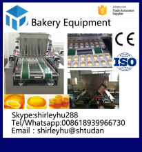 automatic electric cake depositor for food making factory cake making machine price industrial cake baking oven