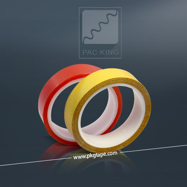 Similar Double Sided Adhesive PET Tape Manufacture, Adhesive Double Side Polyester Tape Rolls, PET Double