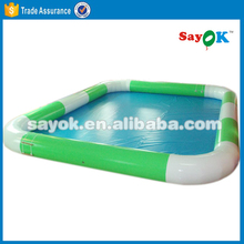 Indoor plastic inflatable baby swimming bath kids pool inflatable water bubble pool table