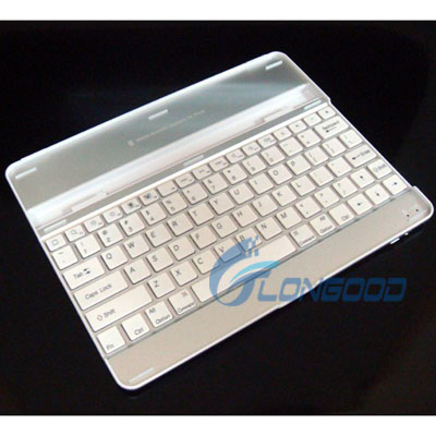 3 in 1 Aluminum Wireless Bluetooth Keyboard for iPad 2