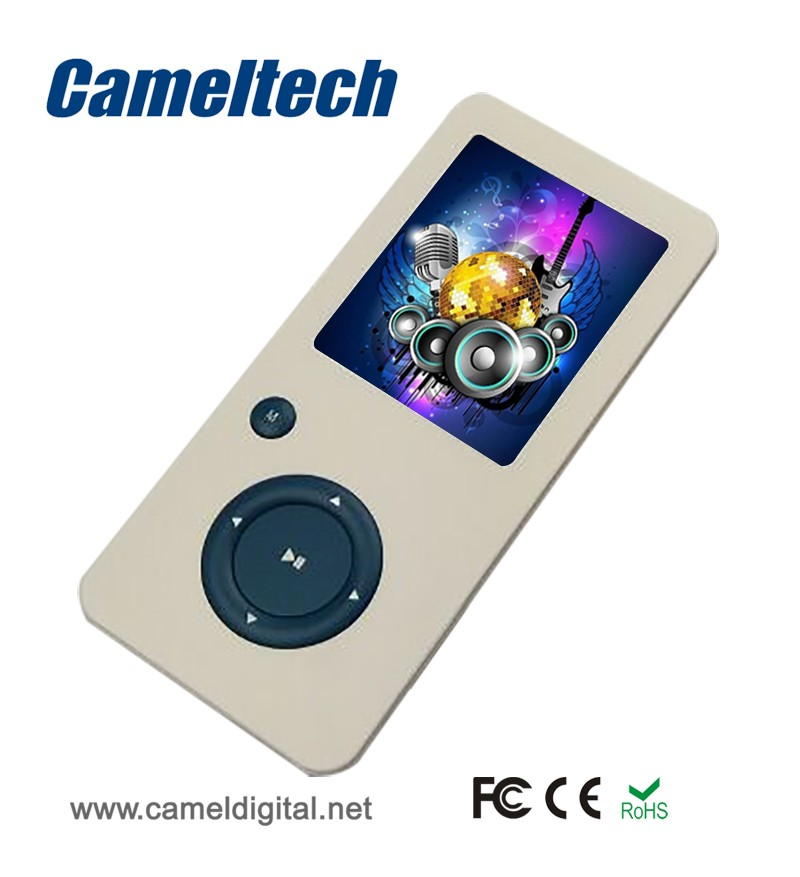 New Design Logo Printing MP4 Player Digital Rechargeable MP3 MP4 with FM Radio Player