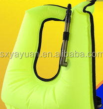 2017 Custom Personalized Snorkel Adult Inflatable Fishing Life Vest