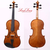 chinese Student solid wood Violin include Case+Bow+Rosin