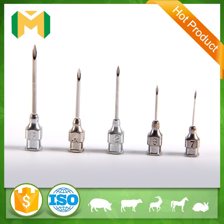 Veterinary instruments stainless steel injection surgical needles