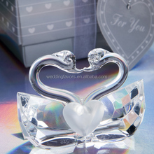Choice Crystal Collection Kissing Swans Wedding Favors