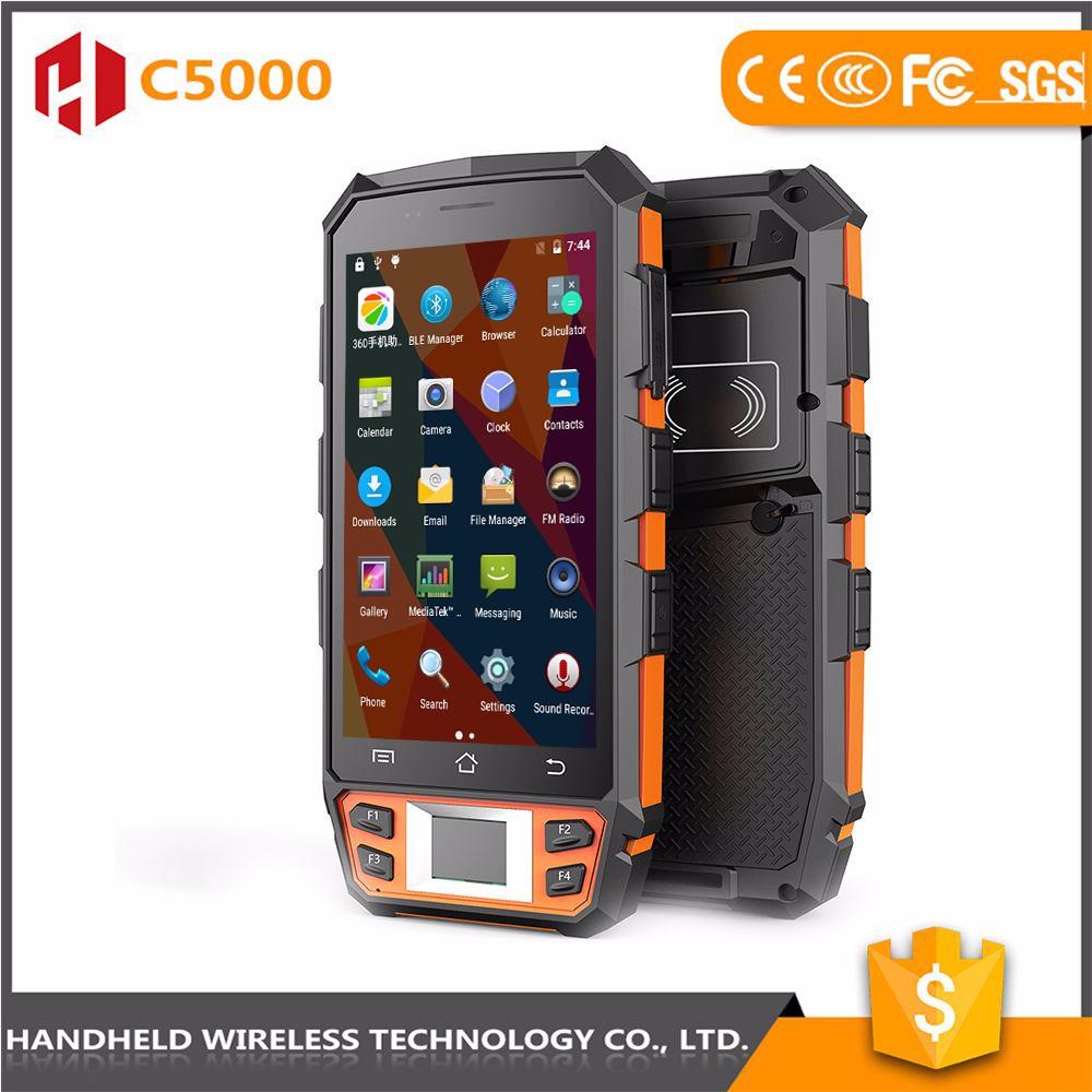 Competitive price top quality handheld C5000 rugged ip65 andrioid 4g waterproof pda