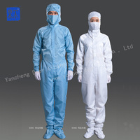 High quality cleanroom antistatic working clothes