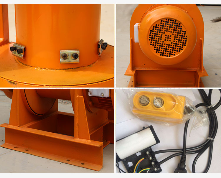 Hiht quality safety Explosion-proof electric hoist elelctric winchees