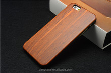 Wholesale Genuine Natural Real Wood Bamboo Case Cover for iPhone 6 Plus Wooden Case