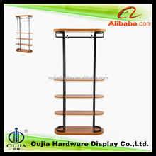 classic painting display rack store garment wall display racks for clothing boutique