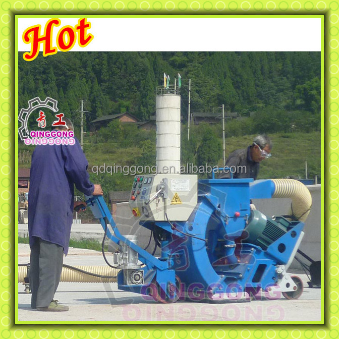 Asphalt Road Surface Cleaning Mobile Shot Blasting Machine Price