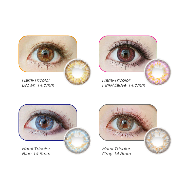 yearly soft lens contact lens color blue wholesale yearly cat eye crazy lens