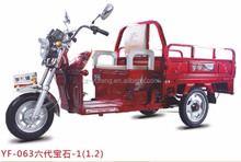 CE certificated battery operated cargo tricycle Europe