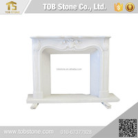 Factory Manufacturer polished marble fireplace