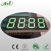 Pure green 7 segment led display, 0.4 inch 4 digit,gas station led price sign
