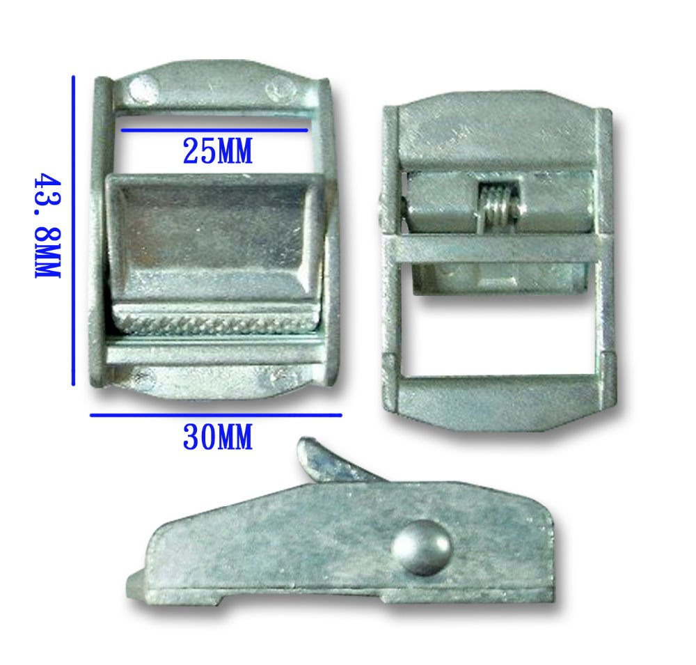 Fastener Zinc Alloy Cam Locking Buckle for webbing Strap