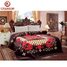 Tender touch yiwu korea style single size 2 ply plush blanket for dubai
