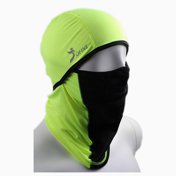 High stretchy soft warm ski skating flatlock stitching sports balaclava