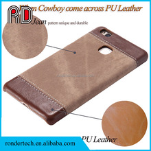 Leather Protective Back Cover Case for Samsung S6/S7/S8/Note 3 4 5