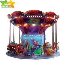 Flying chairs amusement park ride carousel horses on sale