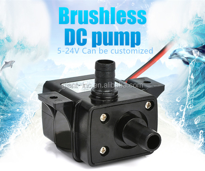 High Flow 3M 12v Water Pump 12 Volt DC Mini Water Pump for Aquarium Circulation, Can be Customized Submersible Water Pump